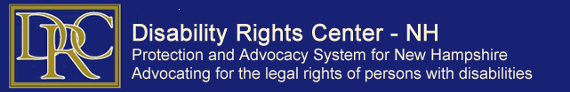 logo for disability rights center  NH